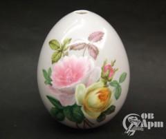 Пасхальное яйцо с цветочным рисунком